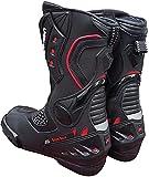 BI ESSE - Botas de moto modelo deportivo Racing Pista, piel profesional transpirable...