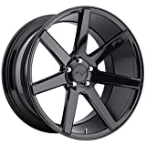Niche Verona 20x10 Black Wheel / Rim 5x120 with a 40mm Offset and a 72.6 Hub Bore. Partnumber M168200021+40