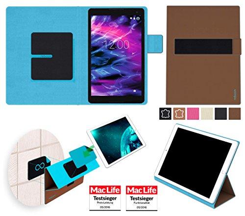 Hülle für Medion Lifetab P10506 Tasche Cover Hülle Bumper | in Braun | Testsieger