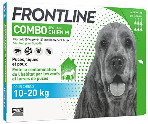 FRONTLINE Combo Chien - Anti-puces et anti-tiques pour...