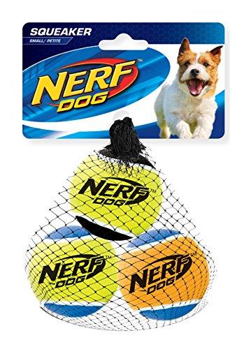 Nerf Dog Squeak Tennis Balls: Ø 5,1 cm