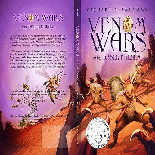 Venom Wars of the Desert Realm, Book 1 cover art