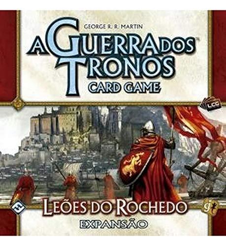 A GUERRA DOS TRONOS - CARD GAME - LEÕES DO ROCHEDO (EXP.)