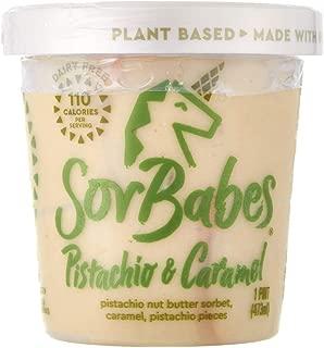 Sorbabes Pistachio & Caramel, 16 fl oz (frozen)