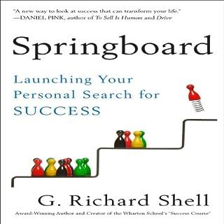 Springboard audiobook cover art