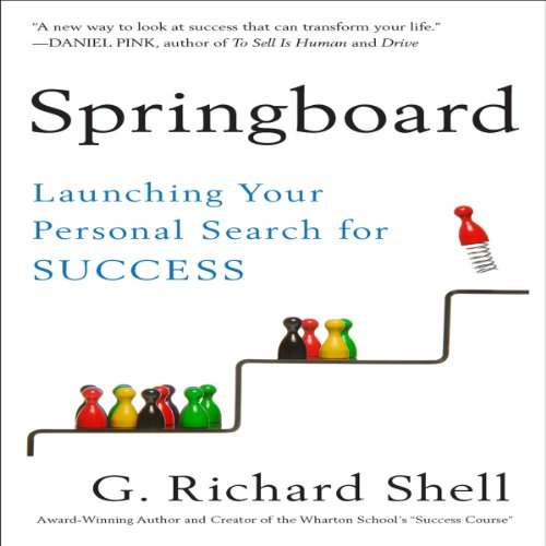 Springboard audiobook cover art