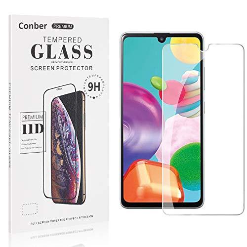 Conber [4 Stück] Displayschutzfolie kompatibel mit Samsung Galaxy A41, Panzerglas Schutzfolie für Samsung Galaxy A41 [9H Härte][Hüllenfreundlich]