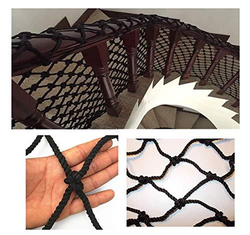 HJRD Children's Stairs Anti-fall Net, Balcony Protective Net, Climbing Safety Net, Garden Fence Net, Cargo Net, Cat Net, Clothes Net, Nylon Rope Net