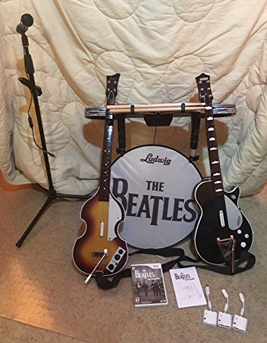 Wii The Beatles: Rock Band Limited Edition Premium Bundle by MTV Games