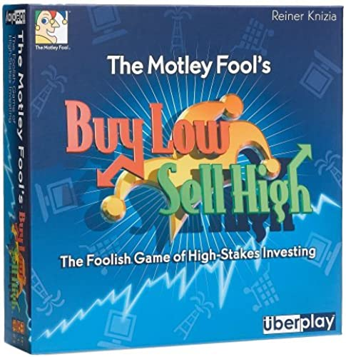 The Motley Fool's Buy Low, Sell High Board Game by Uberplay
