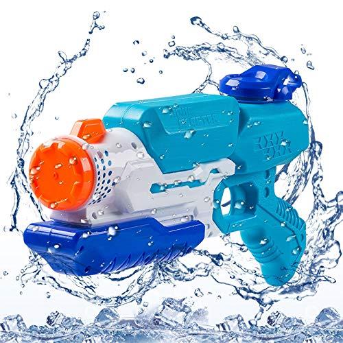 FORMIZON Pistolas de Agua para Niños Adultos, Pistola de Agua, Capacidad 650ml - Chorros de Agua Que Alcanzan una Distancia de hasta 8-11m, Adecuado para Niñas / Niños Juguete de Verano para Playa