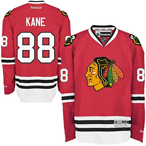 Reebok Chicago Blackhawks Patrick Kane #88 NHL Trikot Home S