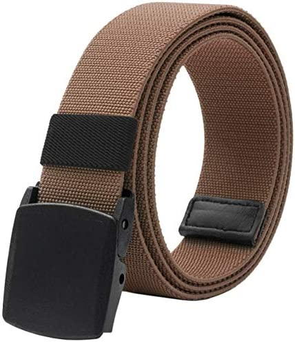Men s Elastic Stretch Belt Military Tactical Belts Breathable Canvas Web Belt for Men Women product image