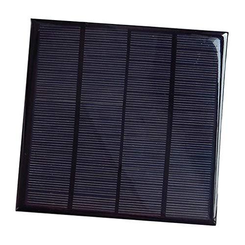 D DOLITY Mini DIY Solarpanel Solarmodul Solarzelle Polykristalline für Handy Spielzeug - 12V 3W