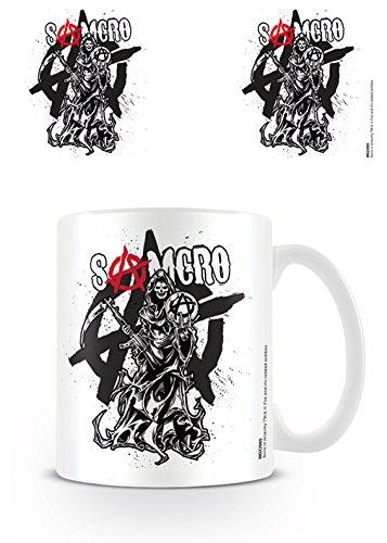 Sons of Anarchy Hijos de la Anarquía Taza Muerte Armada Producto Oficial