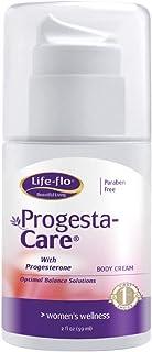 Life-Flo Progesta-Care w/USP Progesterone from Wild Yam   Body Cream for a Woman's Optimal Balance   No Fragrance   2oz