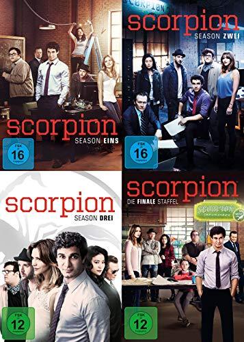 Scorpion - Die komplette Serie - Staffel 1+2+3+4 im Set (24 DVDs)