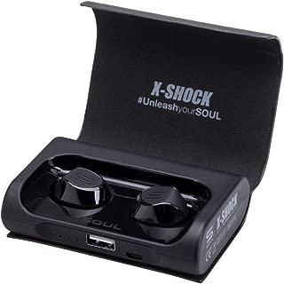 SOUL X-SHOCK True Wireless - Black