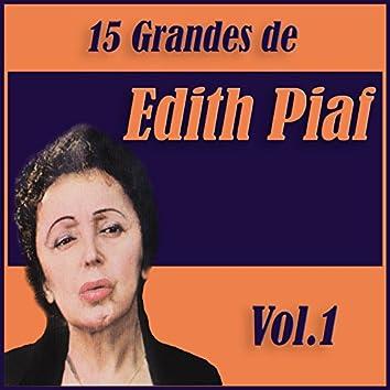 15 Grandes Exitos de Edith Piaf Vol. 1