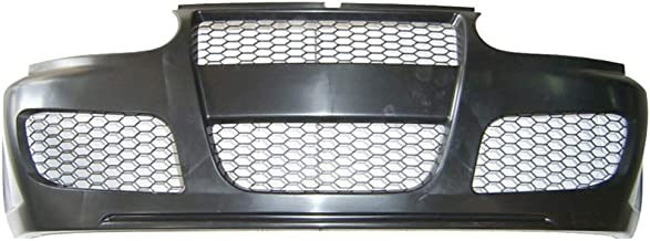Front Bumper Cover Compatible With 1993-1999 Volkswagen Golf 3 | MK3 GT3 Style Front Bumper Guard Cover Honeycomb Mesh by IKON MOTORSPORTS | 1994 1995 1996 1997 1998