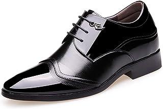 [Donahutt03] ビジネスシューズ 歩きやすい 柔らかい 屈曲性 防滑 通勤 長持ち 通気快適 ブラック 履きやすい 疲れにくい 出張 25.0cm