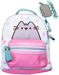 Pusheen The Cat Mochila Infantil, 20 cm, Multicolor, Mochila Mini Blanca y Fucsia
