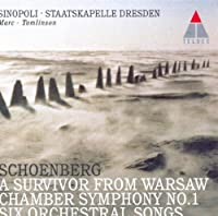 Orchestral Songs/Chamber Symphony 1/Li by A. Schoenberg