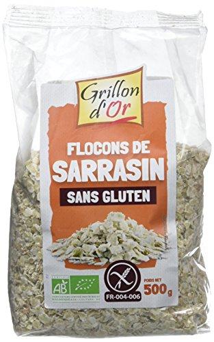Grillon d'Or - BIOGrillon d'or Flocons de Sarrasin 500 g - Lot de 3