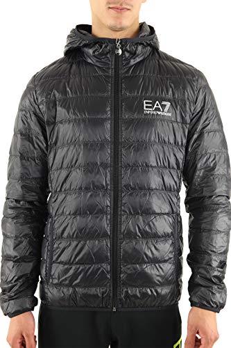 La Doudoune pour Hommes EA7 Train Core ID Down Light Hoodie Jacket