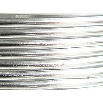 7,5 M/ètres Fil Aluminium Argent 4mm Oasis /®