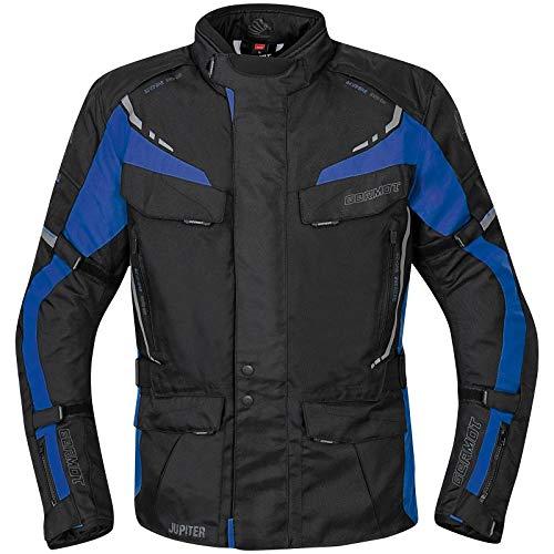 Germot Jupiter Motorrad Textiljacke Schwarz/Blau XXL