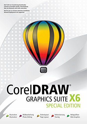 CorelDraw Graphics Suite X6 Special Edition-upgradefähig