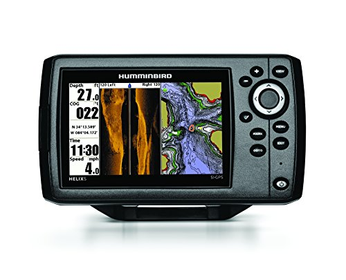 Humminbird 409640-1 Helix 5 SI Fish Finder with Side-Imaging...