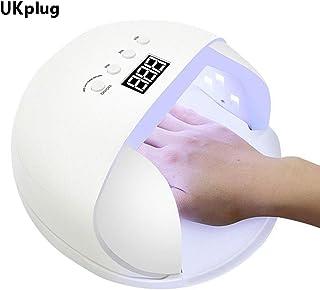 ZNND Inteligente Lámpara De Uñas UV LED De Potencia De 60W del Secador del Clavo del Polaco del Gel For Un Rápido Curado Manos Pies Salon (Size : B)