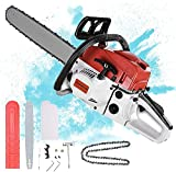4.0HP Gas Chainsaw 2-Cycle 52CC Gas Power Chain Saw,20 Inch Cordless Chainsaw,Small Chainsaw Handed...