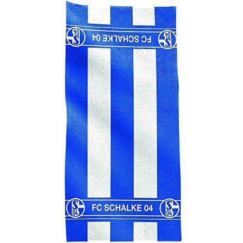FC Schalke 04 Badetuch Blockstreifen