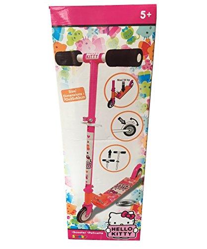 Smoby Patinete Infantil niñas con diseño de Hello Kitty