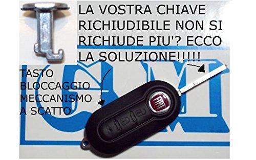 G.M. Production 1502 Touche d'ouverture de clé plip sans logo pour Fiat Lancia Alfa Citroën Opel