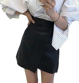 Donne Corea Stili Vita alta Primavera e Estate Moda Ragazza halfbody Gonna Femminile Mini Lunghezza WL23601XXL