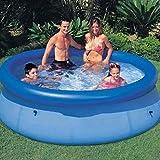Piscinas for niños Piscina sobra la Tierra Summer Family Kids Play Nadada de los niños Piscina Piscine Water Sport Easy Set (Color: Azul, tamaño: 457times; 84cm) ZHNGHENG