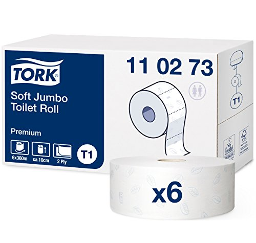 Papel higiénico Tork Jumbo Premium - compatible Tork T1 - 6 rollos)