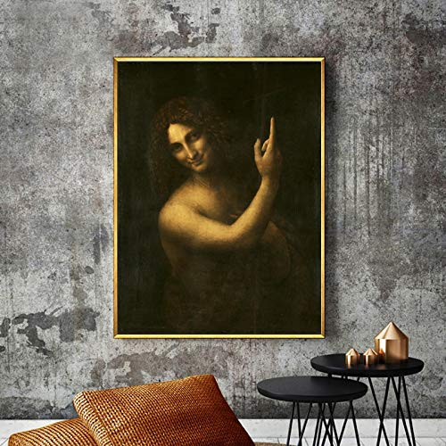 KWzEQ Berühmte Plakate und Leinwanddrucke Wohnzimmer Dekoration Wandbilder,Rahmenlose Malerei,60x75cm