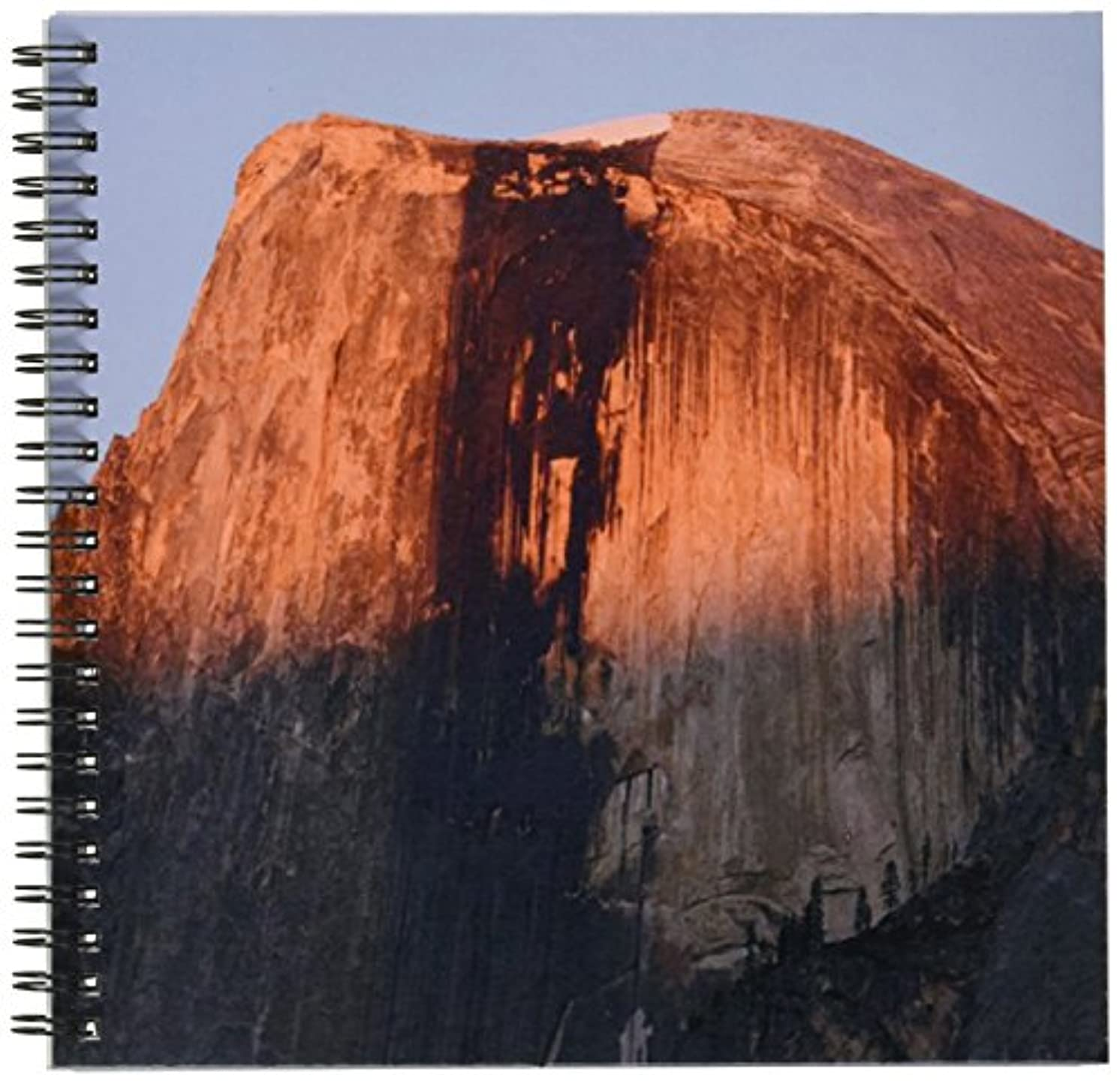 3dRose db_36438_1 Half Dome of Glacier Point in Yosemite National Park-Drawing Book, 8 by 8-Inch