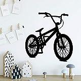 yaonuli Diversión Bicicleta Vinilo Papel Tapiz Enrollable decoración de Muebles habitación Infantil decoración del hogar Pegatina mural42X43cm