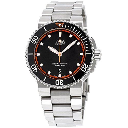Oris Aquis Date Reloj automático para hombre 01 733 7653 4128-07 8 26 01PEB