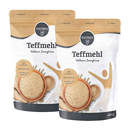 2 x borchers Farine de Teff organique
