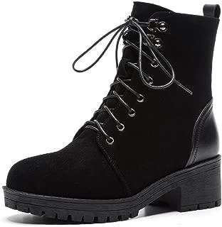 BalaMasa Womens Nubuck Warm Lining Backpacking Urethane Boots ABM13556