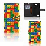 Smartphone Hülle personalisierte Schutzhülle passt für LG Bello 2 Schutzhülle Blöcke
