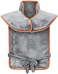 """XXL Electric Heating Pads for Pain Relief - ATMOKO 23.6""""x33.5"""" Heat Pad for Back Shoulder Sport Soothing Muscle Pain and Cramps Relief, Fast-Heating, Auto-Off, Washable"""