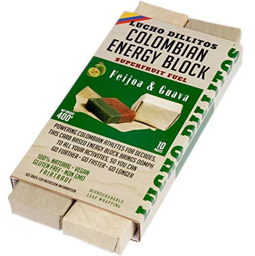 Natürlicher Guave Powerbar 10x40g – High Carb Müsliriegel für maximale Ausdauer – Herzhafter Energieriegel, Gesunde Snacks für Athleten – Vegan, Glutenfrei, Natürliche Süssigkeiten – Feijoa